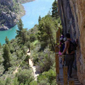 Ruta Pasarelas Mont Rebei-Montfalco