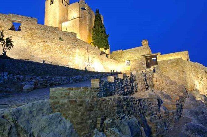 Castillo de Benabarre Iluminado