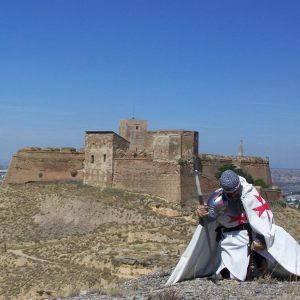 Castillo de Monzón con Templario