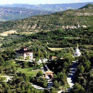 Vista del Templo