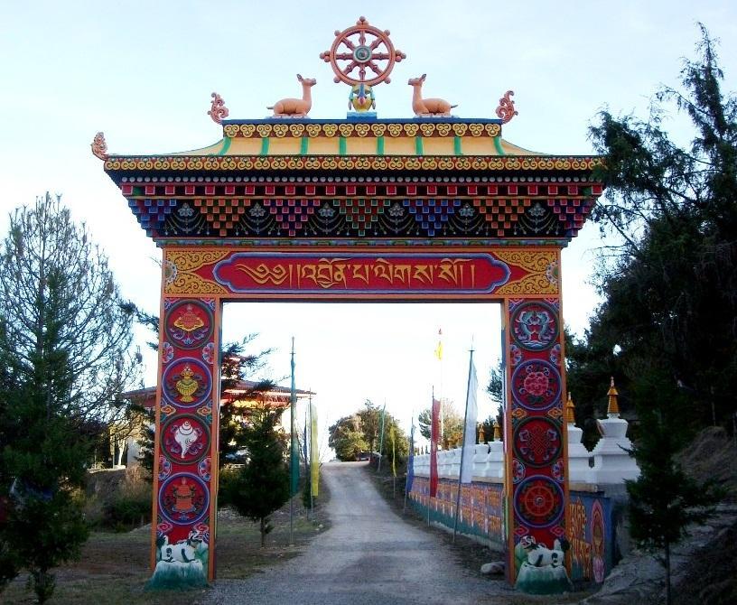 Panillo. Templo Budista
